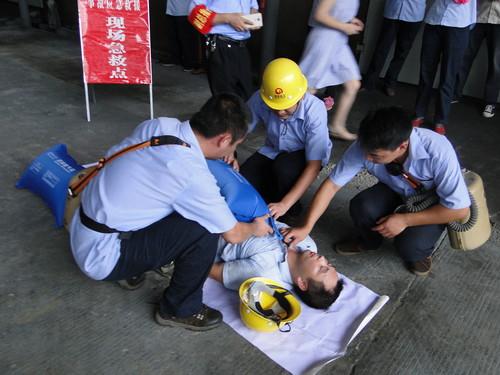 永安双华公司开展有限空间事故专项应急救援预案演练